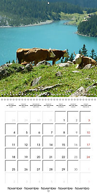 Unique Alpine World (Wall Calendar 2019 300 × 300 mm Square) - Produktdetailbild 11
