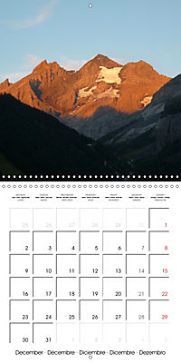 Unique Alpine World (Wall Calendar 2019 300 × 300 mm Square) - Produktdetailbild 12