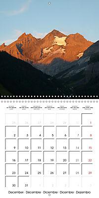 Unique Alpine World (Wall Calendar 2019 300 × 300 mm Square) - Produktdetailbild 12