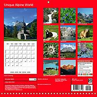 Unique Alpine World (Wall Calendar 2019 300 × 300 mm Square) - Produktdetailbild 13