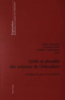 Unité et pluralité des sciences de l'éducation