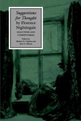 University of Pennsylvania Press: Suggestions for Thought by Florence Nightingale