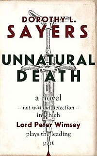 dorothy sayers unnatural death pdf