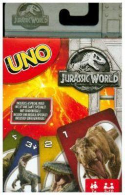 UNO Jurassic World (Kartenspiel)