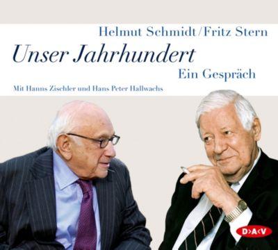Unser Jahrhundert, 5 Audio-CDs, Helmut Schmidt, Fritz Stern