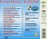 Unser Kleiner Teddybär Singt Mit Euch - Produktdetailbild 1