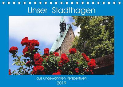 Unser Stadthagen (Tischkalender 2019 DIN A5 quer), Klaus Gosda