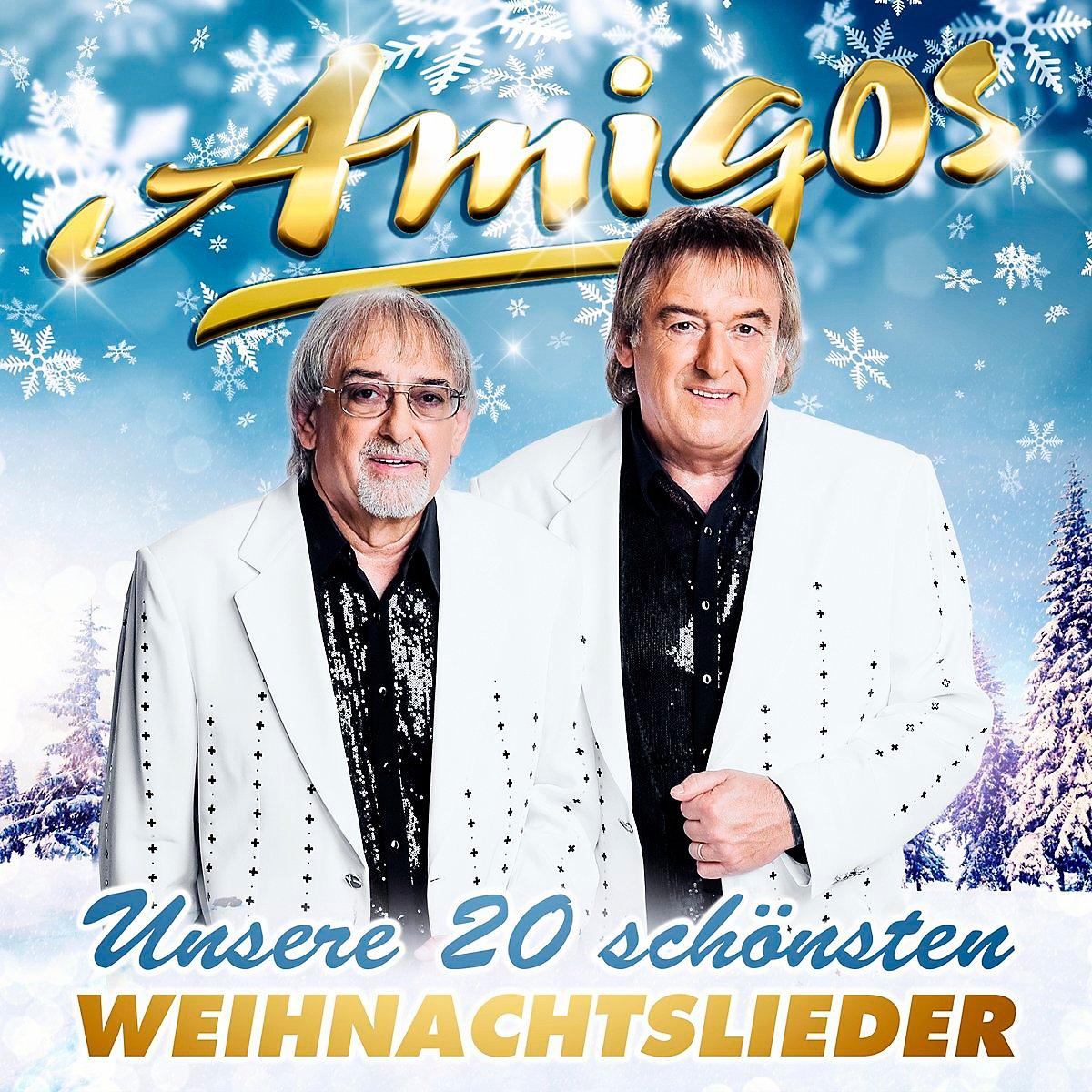Unsere 20 schönsten Weihnachtslieder CD von Amigos | Weltbild.at