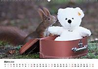 Unsere Eichhörnchen in Bayern (Wandkalender 2019 DIN A2 quer) - Produktdetailbild 3