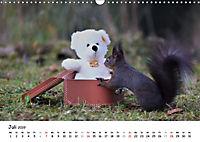 Unsere Eichhörnchen in Bayern (Wandkalender 2019 DIN A3 quer) - Produktdetailbild 7