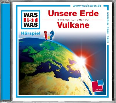 Unsere Erde / Vulkane, 1 Audio-CD, Matthias Falk