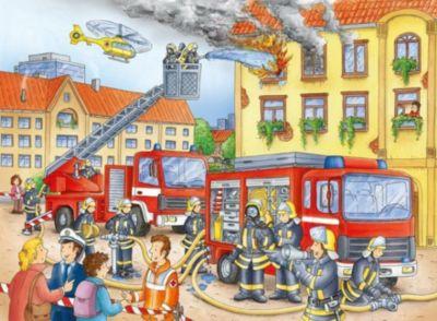 Puzzles & Geduldspiele Kleiner Flugplatz Puzzles Puzzle mit 40 Teilen Rahmenpuzzle ab 4 Jahren Spiel Deutsch