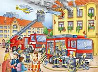 Unsere Feuerwehr. Puzzle 100 Teile XXL - Produktdetailbild 1