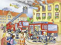 Unsere Feuerwehr. Puzzle 100 Teile XXL - Produktdetailbild 2
