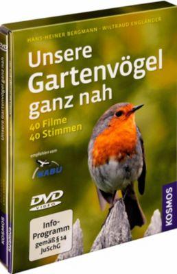 Unsere Gartenvögel ganz nah, 1 DVD, Hans-Heiner Bergmann, Wiltraud Engländer