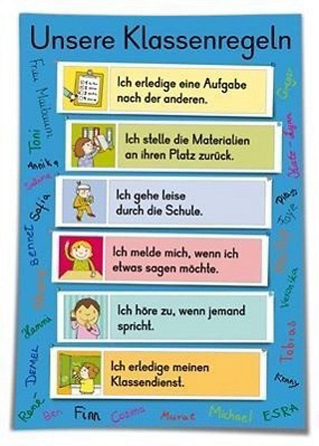 Klassenregeln grundschule bildkarten  Unsere Klassenregeln Bildkarten Buch versandkostenfrei bei Weltbild.ch