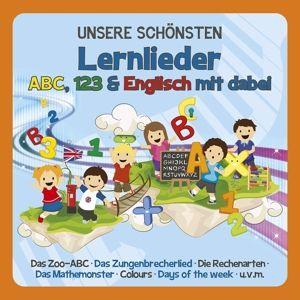 Unsere Schönsten Lernlieder-Abc,123,Englisch, Familie Sonntag