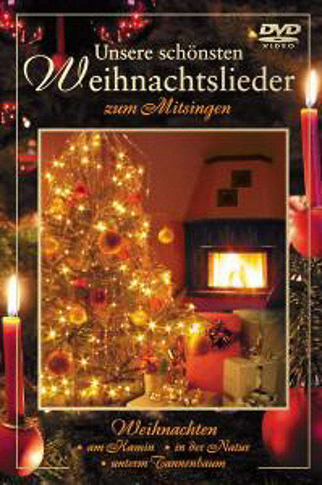 Unsere schönsten Weihnachtslieder zum Mitsingen DVD | Weltbild.de