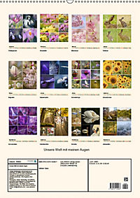 Unsere Welt mit meinen Augen (Wandkalender 2019 DIN A2 hoch) - Produktdetailbild 13