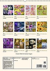 Unsere Welt mit meinen Augen (Wandkalender 2019 DIN A3 hoch) - Produktdetailbild 13