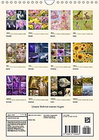 Unsere Welt mit meinen Augen (Wandkalender 2019 DIN A4 hoch) - Produktdetailbild 13
