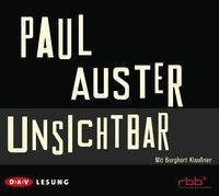 Unsichtbar, 6 Audio-CDs, Paul Auster