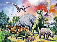 Unter Dinosauriern. Puzzle 100 Teile XXL - Produktdetailbild 3