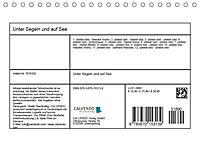 Unter Segeln und auf See (Tischkalender 2019 DIN A5 quer) - Produktdetailbild 13