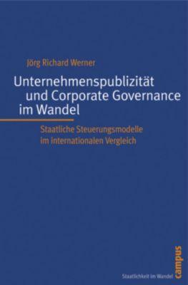 Unternehmenspublizität und Corporate Governance im Wandel, Jörg Richard Werner