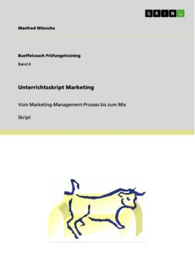 Unterrichtsskript Marketing, Manfred Wünsche