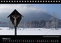 Unterwegs auf dem Maximiliansweg (Tischkalender 2019 DIN A5 quer) - Produktdetailbild 2