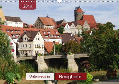 Unterwegs in Besigheim (Wandkalender 2019 DIN A3 quer), Angelika Keller