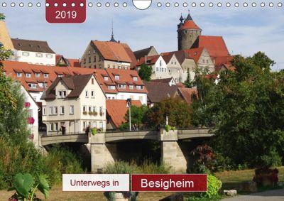 Unterwegs in Besigheim (Wandkalender 2019 DIN A4 quer), Angelika Keller