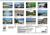 Unterwegs in der Normandie (Wandkalender 2019 DIN A2 quer) - Produktdetailbild 13