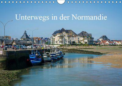 Unterwegs in der Normandie (Wandkalender 2019 DIN A4 quer), Alain Gaymard