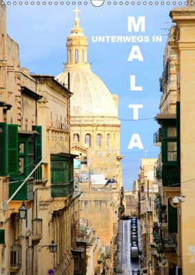 Unterwegs in Malta (Wandkalender 2019 DIN A3 hoch), Rabea Albilt