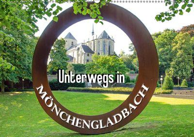 Unterwegs in Mönchengladbach (Wandkalender 2019 DIN A2 quer), Nina Schwarze
