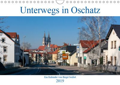 Unterwegs in Oschatz (Wandkalender 2019 DIN A4 quer), Birgit Seifert