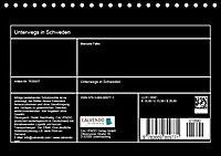 Unterwegs in Schweden (Tischkalender 2019 DIN A5 quer) - Produktdetailbild 13
