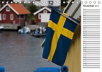 Unterwegs in Schweden (Tischkalender 2019 DIN A5 quer) - Produktdetailbild 11