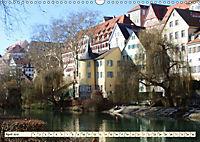 Unterwegs in Tübingen (Wandkalender 2019 DIN A3 quer) - Produktdetailbild 4