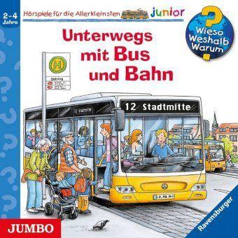 Unterwegs mit Bus und Bahn, 1 Audio-CD, Andrea Erne