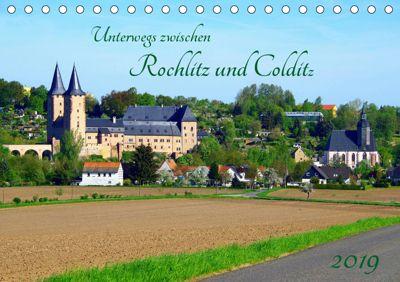 Unterwegs zwischen Rochlitz und Colditz (Tischkalender 2019 DIN A5 quer), Thilo Seidel