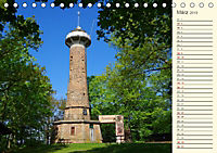 Unterwegs zwischen Rochlitz und Colditz (Tischkalender 2019 DIN A5 quer) - Produktdetailbild 3