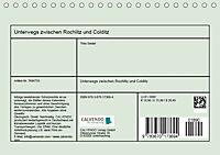 Unterwegs zwischen Rochlitz und Colditz (Tischkalender 2019 DIN A5 quer) - Produktdetailbild 13