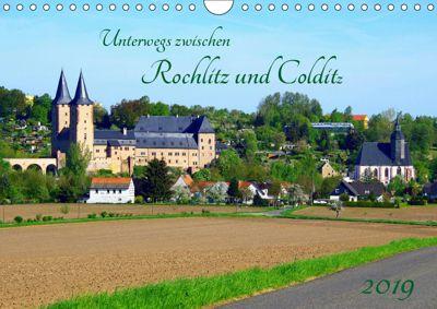 Unterwegs zwischen Rochlitz und Colditz (Wandkalender 2019 DIN A4 quer), Thilo Seidel