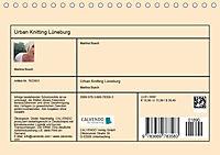 Urban Knitting Lüneburg (Tischkalender 2019 DIN A5 quer) - Produktdetailbild 13