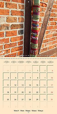 Urban Knitting (Wall Calendar 2019 300 × 300 mm Square) - Produktdetailbild 3