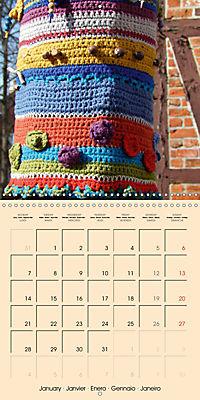 Urban Knitting (Wall Calendar 2019 300 × 300 mm Square) - Produktdetailbild 1