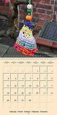 Urban Knitting (Wall Calendar 2019 300 × 300 mm Square) - Produktdetailbild 2
